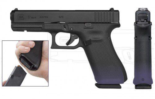 cambios brocal cargador glock gen 5 pistola