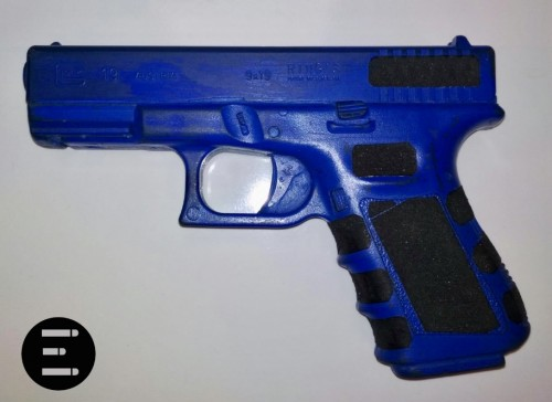 blue glock lija grip