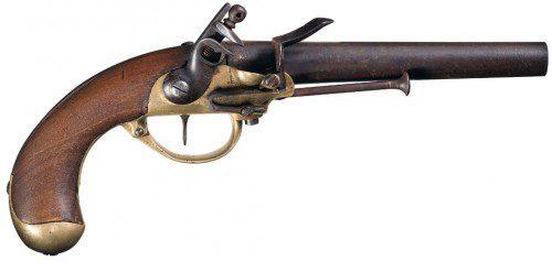 Pistola de avancarga Modelo 1799