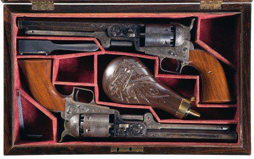 Revólveres Colt 1851 Modelo Navy