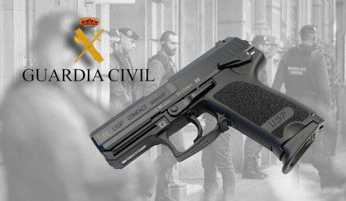 Nuevas HK USP para la Guardia Civil