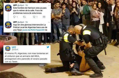 critica actuación policial