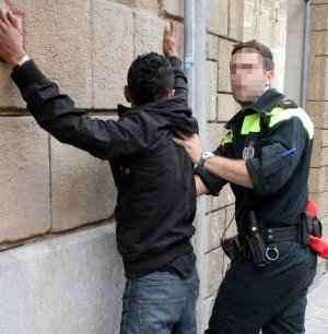 cacheo policial peligros