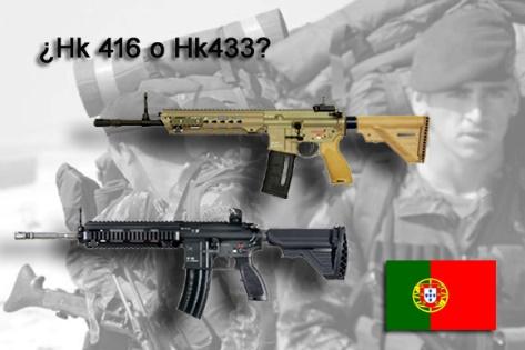 Portugal busca nuevo fusil