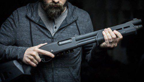 La escopeta táctica, configuración y manejo.