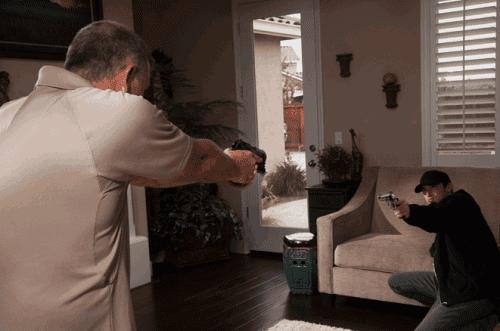 defensa del hogar pistola