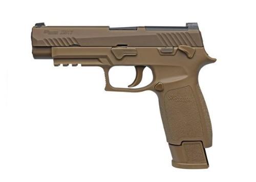 La 101st Aerotransportada recibe las primeras pistolas M17