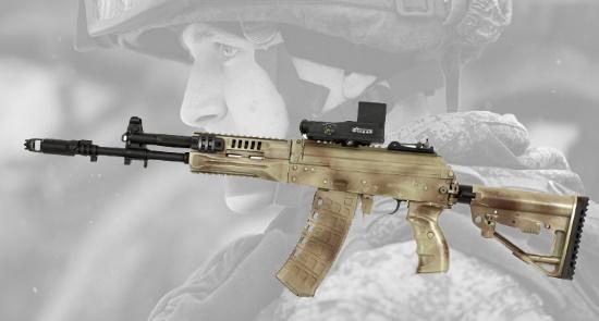 El Ejército ruso recibe los primeros AK-12