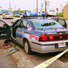 tiroteo coche policía
