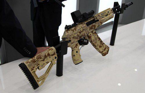 El AK 12 es el nuevo fusil de asalto ruso derivado del AK-47