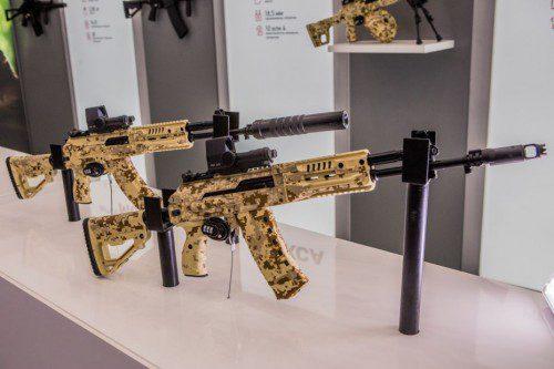fusiles ak-15 y ak-12