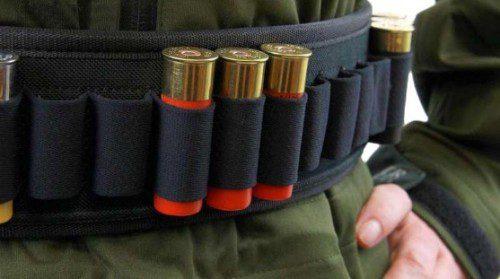 cinturon portacartuchos escopeta táctica