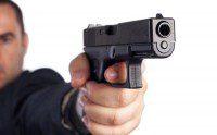 presión disparador glock pistola