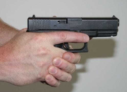 empuñadura pistola