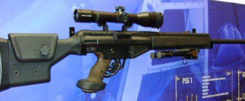 fusil de precisión semiautomático PSG1