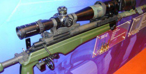 fusil de cerrojo Sako TRG 42 en calibre 338 Lapua Magnum