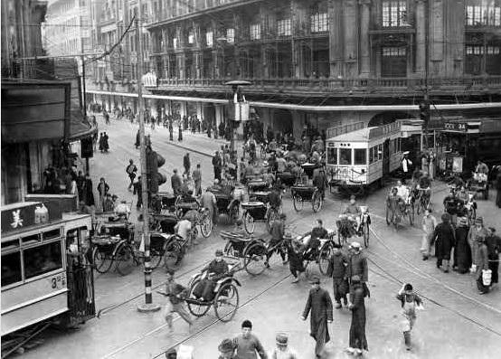 Shanghái una de las ciudades más peligrosas del mundo en 1940.