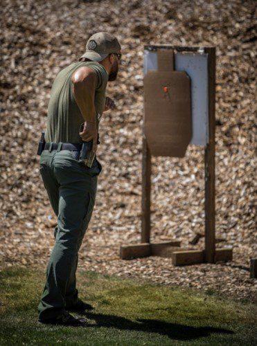 ejercicio control del disparador pistola