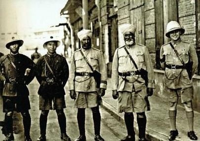 Policía municipal de Shanghái en la década de 1930