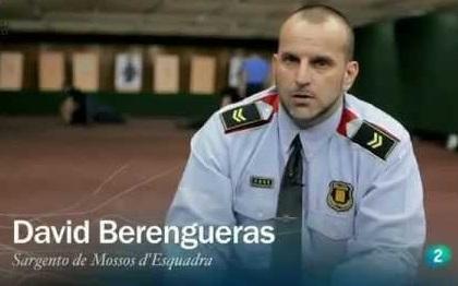 """David Berengueras, autor del libro """"Cara a cara frente a una intervención armada"""""""