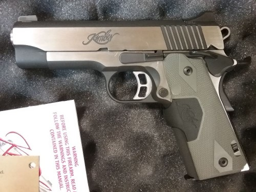 Kimber Eclipse Pro II Lasrgrip 45