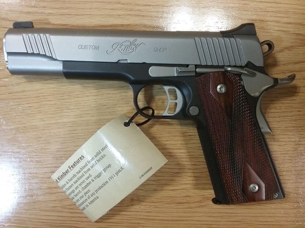 Kimber Custom CDP II 5plg 45