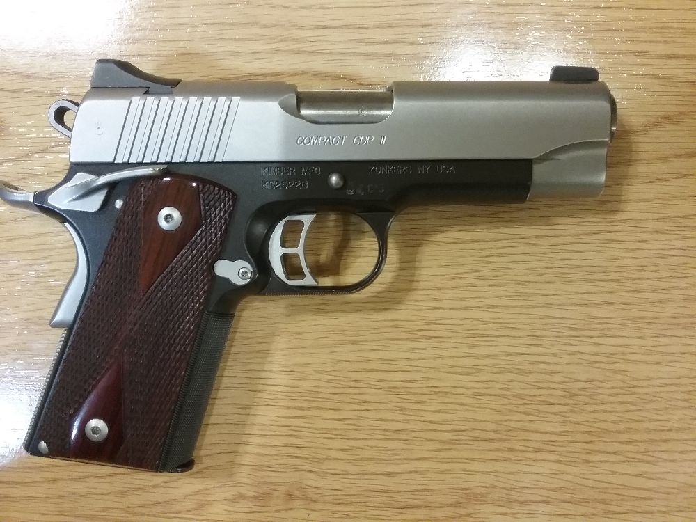 Kimber Custom  Compact CDP II 45