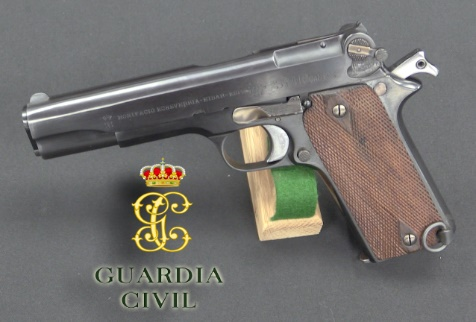 Las primeras pistolas STAR de la Guardia Civil