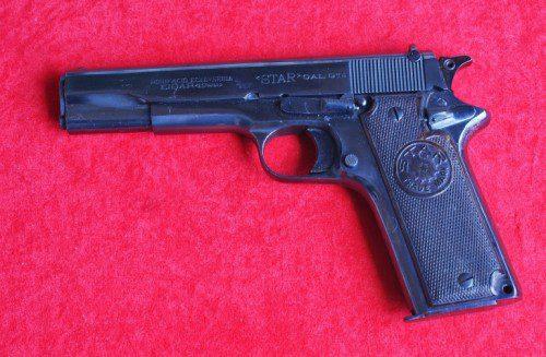 Pistola Star modelo 1922.