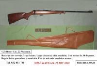 CZ (Brno) Cal. .22 Magnum