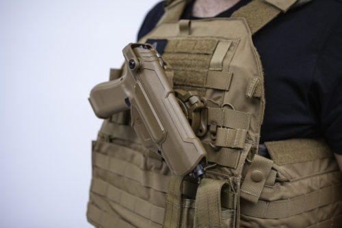 Funda pistola glock ejército francés
